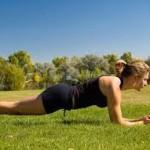 体幹トレーニングのプランクのやり方と注意点