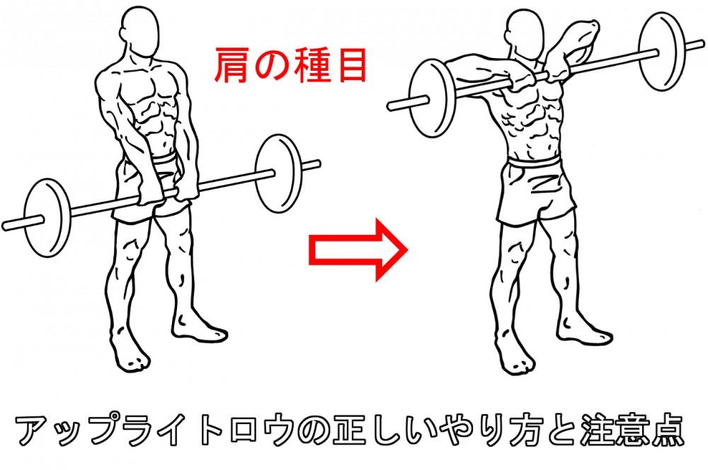 アップライトロウで肩を鍛える!正しいやり方と注意すべき5つのポイント
