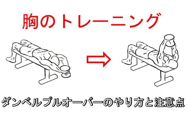 ダンベルプルオーバーで胸の厚みを作る!正しいやり方と注意すべきポイント