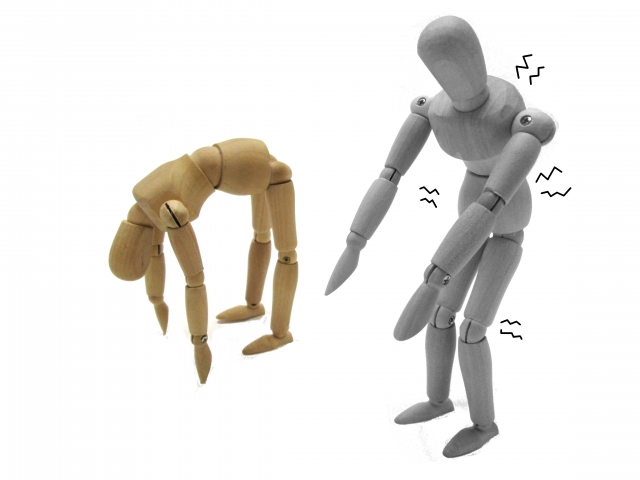 腰痛や肩コリにおすすめな改善方法。アッパー・ローワークロスシンドローム
