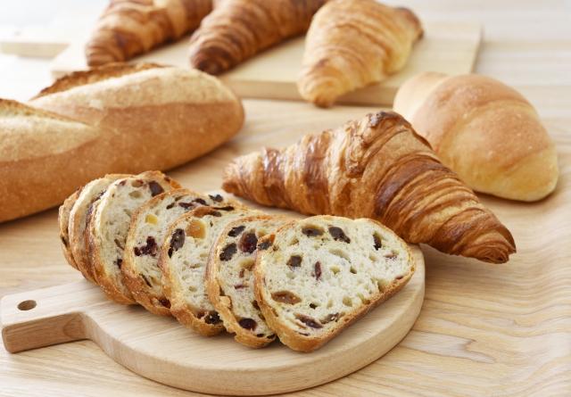 パンの栄養価は種類によって変わる